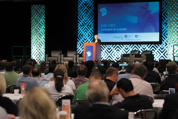 Alabama Hosts Southern Automotive Conference Full House - Automotive convention