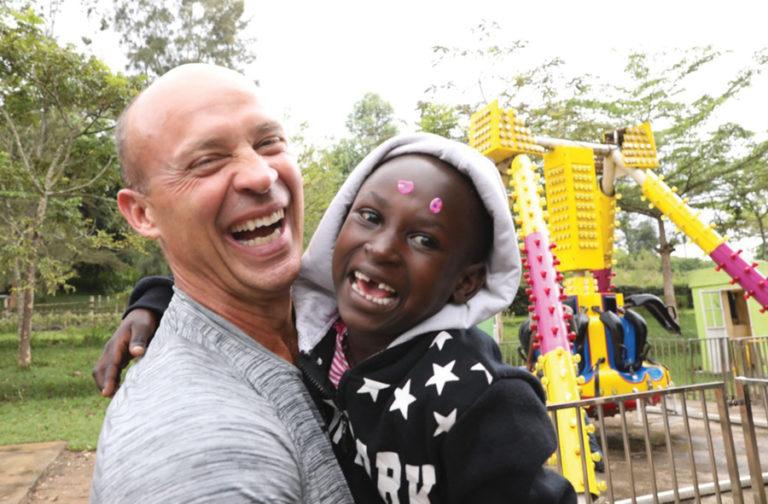 Relief Donors Visit Rwandan Kids