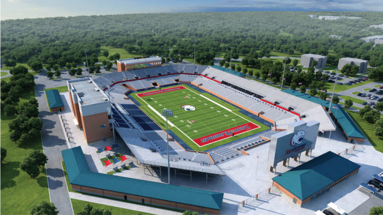 University Investment in Football Charges South
