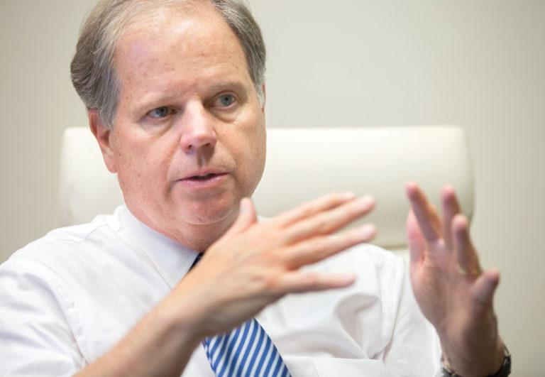 Alabama's Surprise Senator Talks Business