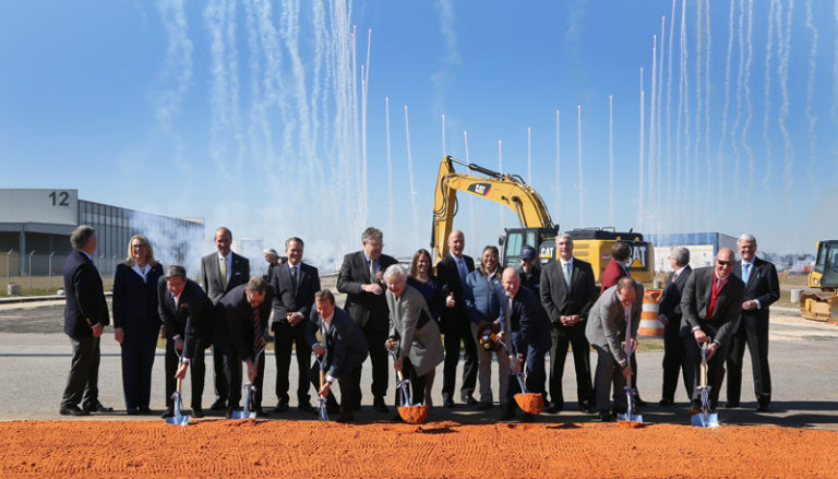 Airbus Breaks Ground on New Assembly Line in Mobile