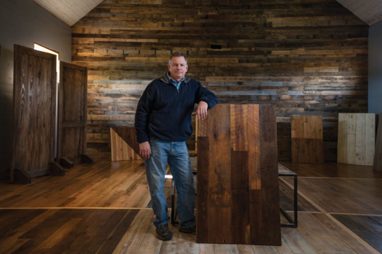 Transforming Old Wood into New Business