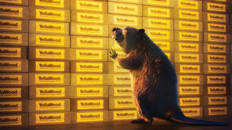 YellaWood Enlists Icon of Animal Endurance