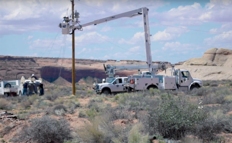 Altec's Long Reach Brings Power to the Navajo Nation