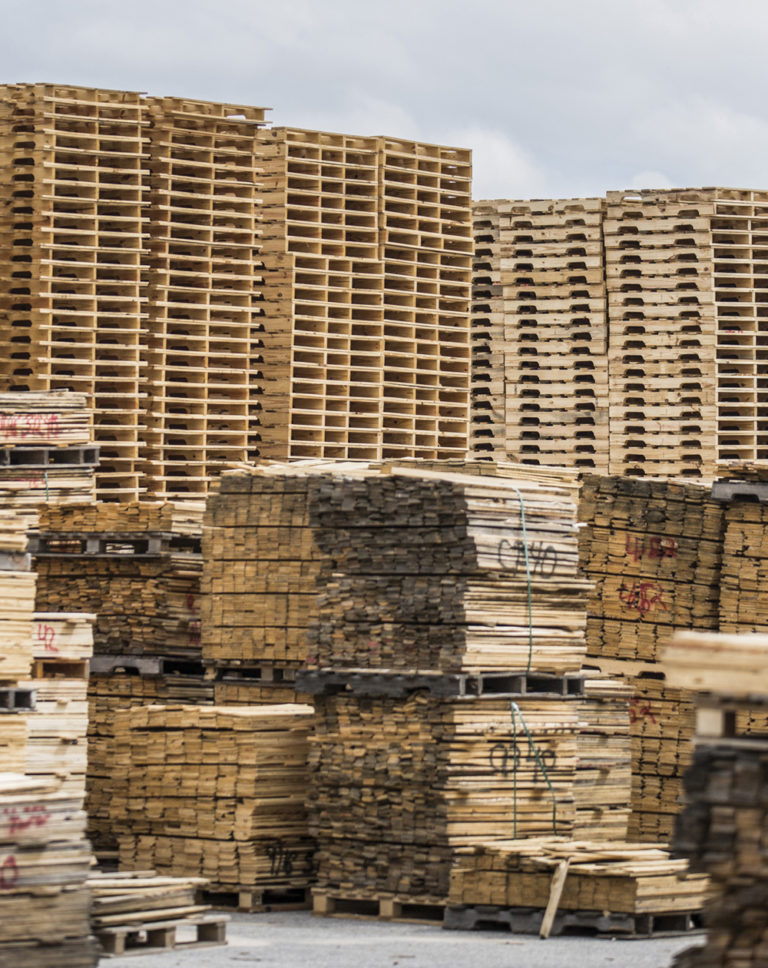 Why Haven't Prices for Wooden Pallets Fallen, with the Slump in Wood Prices?