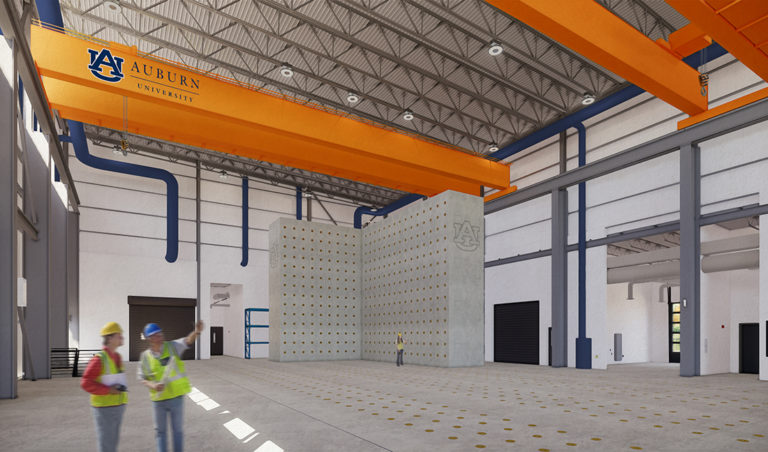 One of the Best Structural Test Labs in U.S. — Auburn Breaks Ground