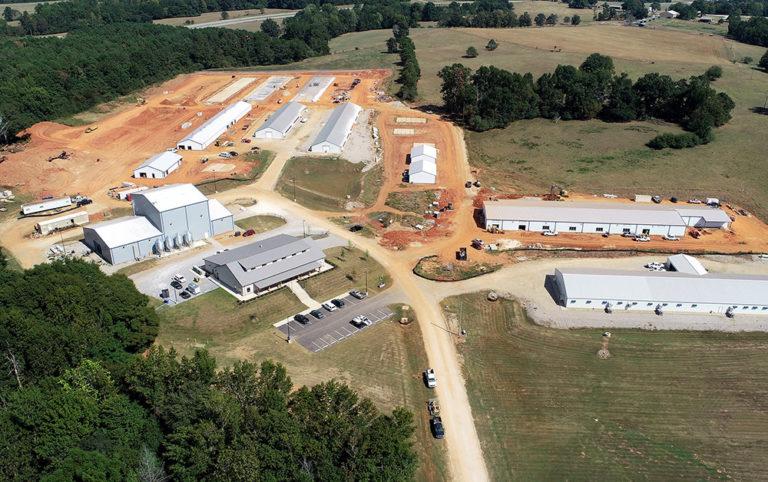 Auburn's New Poultry Farm a 30-Acre Wonder