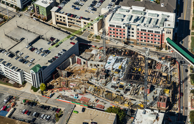 Cityscape Changes with Mammoth Huntsville Hospital Expansion