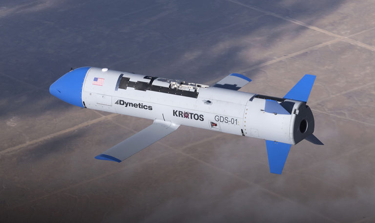 Dynetics' Tests Advanced UAV Weapon That Comes in Swarms