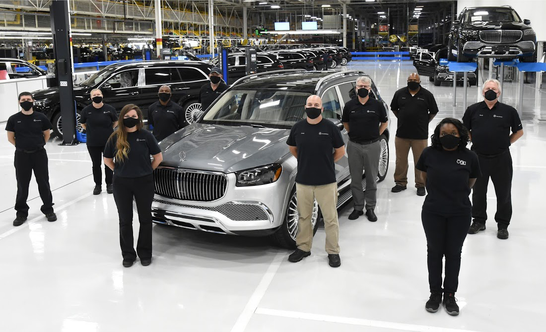 A New Luxury Suv Rolls Off The Line